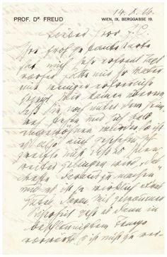 Sigmund FREUD. 1856-1939. Médecin, fondateur de la psychanalyse L.A.S. Vienne, 14 décembre 1926. 2 pp. in-8, en-tête à son nom et adresse. Freud a été ravi de recevoir sa carte optimiste, malgré le mal… - F.L. Auction - 01/07/2016