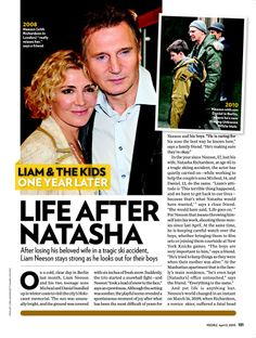 Liam neeson sons | ... Ski Accident, Liam Neeson Stays Strong as He Looks Out for Their Boys