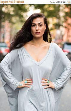 New to BabooshkaBoutique on Etsy: 25% SALE NEW COLORS - Babooshka  Asymmetrical Oversized T-Shirt Dress (52.50 USD)