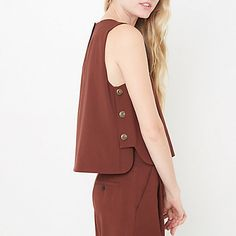Brown outfit – love it Fashion Wear, Look Fashion, Hijab Fashion, Fashion Dresses, Womens Fashion, Brown Outfit, Blouse Models, Fashion Details, Fashion Design