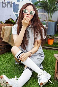 T-Ara Hyo Min - bnt International 2015