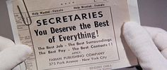 The Best of Everything (1959) ~ Sweet Sunday Mornings