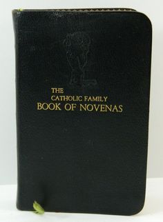 Catholic Family Book of Novenas Vintage by QueeniesCollectibles, $34.99