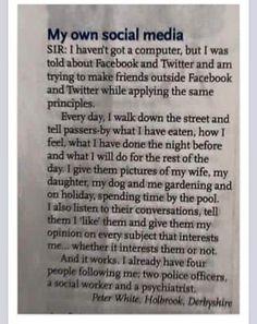 My own social media | #lol #funny #humor
