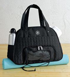 Everything Fits Gym Bag black