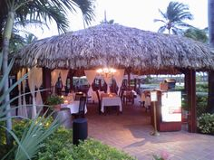 Renaissance Aruba - outdoor restaurant. Photo by Missy of All Inclusive Outlet.