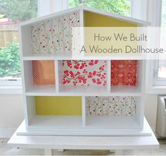 Building A House… For Dolls Young House Love Dollhouse Bookcase, Wooden Dollhouse, Diy Dollhouse, Dollhouse Furniture, Diy Furniture, Homemade Dollhouse, Barbie Furniture, Young House Love, Dollhouse Tutorials