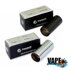 The genuine Joyetech protective sleeve that covers the atomizer on the eRoll e-cig.