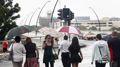 Rain, rain go away... more showers are expected in Brisbane today but the weather should