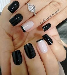 Nails French Manicure Designs Ongles 58 Ideas For 2019 French Nail Designs, White Nail Designs, Acrylic Nail Designs, Nail Art Designs, Nails Design, Acrylic Tips, Fingernail Designs, Pedicure Colors, Pedicure Nail Art