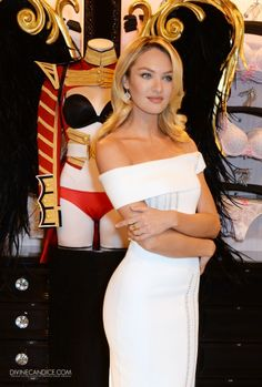 Candice Swanepoel at Victoria's Secret Event in London