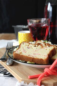 #Cake salé au #saumon fumé tout gonflé, tout doré