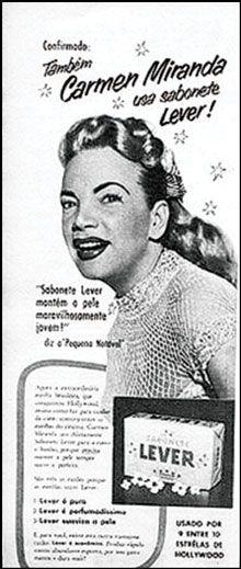 Carmen-Miranda-usa-sabonete-Unilever