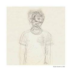 Dryden Goodwin  Drawings of people I know  Matt (2002)