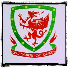 Cowbois Cymru, Ferrari Logo, Dragons, Celtic, Logos, Art, Art Background, Logo, Dragon