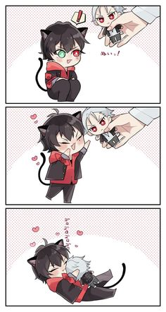 Anime Puppy, Anime Cat Boy, Anime Guys, Anime Oc, Fanarts Anime, Rap Battle, Hot Boys, Aesthetic Anime, Division