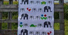 Sew Fresh Quilts: Elephant Parade {redo}