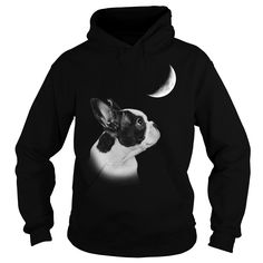 French #Bulldog watch the moon, Order HERE ==> https://www.sunfrog.com/Pets/123520141-679822963.html?89699, Please tag & share with your friends who would love it, #birthdaygifts #renegadelife #jeepsafari