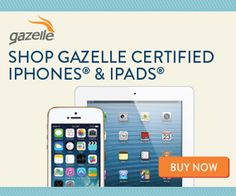 Why Gazelle is a Great Place to Purchase a High Quality Certified Pre-Owned Device #ad