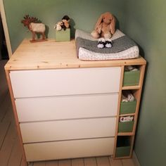 Sultan Lade + Malm + Benno = changing table | baby stuff | Ikea ...