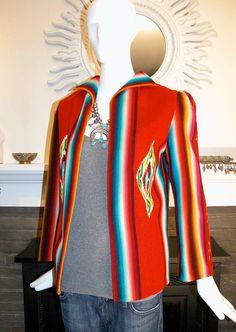 1930's Santillo chimayo Native coat Navajo