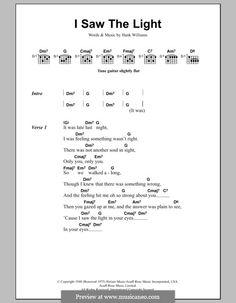 Todd Rundgren: I Saw The Light (lyrics and chords)