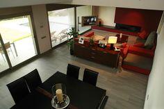 #Decoracion #Moderno #Comedor #Sala de estar #Sillas #Comodas #Mesas de centro #Mesas de comedor #Puertas #Vidrio #Lamparas #Plantas #Sofas #Ventanas