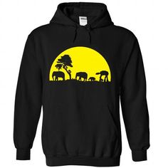 ELEPHANTS FUNNY T Shirts, Hoodies. Get it here ==► https://www.sunfrog.com/No-Category/ELEPHANTS-FUNNY-5488-Black-Hoodie.html?41382