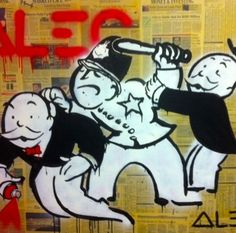 Bobby Monopoly #2 by Alec Monopoly
