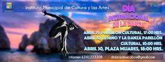 Dia internacional de la Danza, 29-abr, Pabellón cultural de la republica, Cabo San Lucas