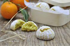 Biscotti all'arancia senza lievito, soffici e golosi, ricetta senza nichel.