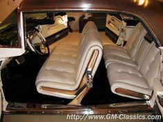 1958 Cadillac Eldorado Brougham purchased new by Grace Kelly as a gift for her father. The interiors of this car were waaaay ahead of their time.