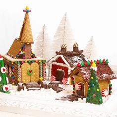 Graham Cracker Christmas Village