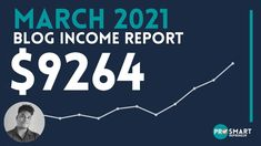 Blog Income Report: How I made $9264 in March 2021 Ways To Earn Money, Earn Money From Home, Make Money Blogging, Way To Make Money, Money Tips, Second Income Ideas, Weekend Jobs, Night Jobs, Make Money From Pinterest