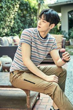 "Lafuma 2017 S/S Collection Mini Magazine with Cha Eunwoo ""Scans by: half past three Cha Eun Woo, Asian Boys, Asian Men, Korean Men, Cha Eunwoo Astro, Lee Dong Min, Pre Debut, Sanha, Korean Music"