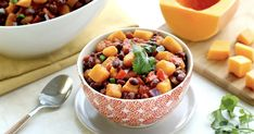 Our New Favorite Slow-Cooker Recipe: Butternut Squash & Black Bean Chili