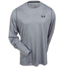 36d07f805c Under Armour Men s Steel 1249033 035 UA Tech Long Sleeve Tee Shirt Under  Armour Sweatshirts