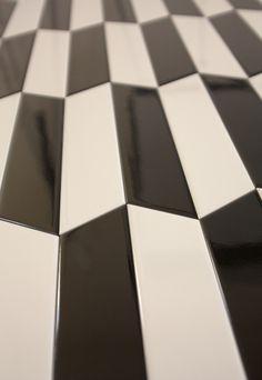 Tonalite collezione Arrow Silk 23x5 7 colori lucidi. Posa a lisca di pesce. Chevron, tiles, piastrelle, ceramiche, ceramica, walltiles, floortiles, rivestimento, pavimento zig zag