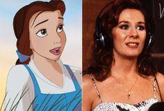 The Real Women Behind Disney Princesses ~ Paige O'Hara was cast as Belle in Beauty and the Beast (1991).