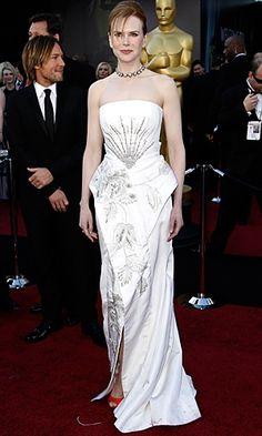 Nicole Kidman in John Galliano at the Oscars 2011