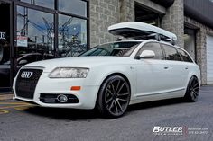 Audi with Rotiform SPF Wheels exclusively from Butler Tires and Wheels in Atlanta, GA - Image Number 9827 Audi Wagon, Tyre Brands, Audi A6, Jdm, Butler, Atlanta, Wheels, Image, Bike