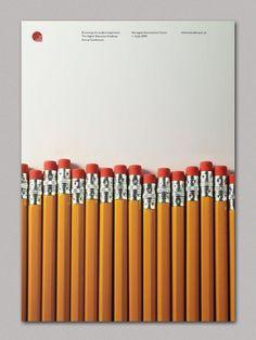 pencils layout
