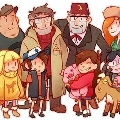'Everything I've worked for, everything I care about, it's all for this family.' I am not ready for this finale :( #gravityfalls #grunklestan #stanfordpines #dipperpines #mabelpines #pacificanorthwest #wendycorduroy #soosramirez #fiddlefordmcgucket #billcipher
