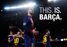 This, is, #Barça!!!