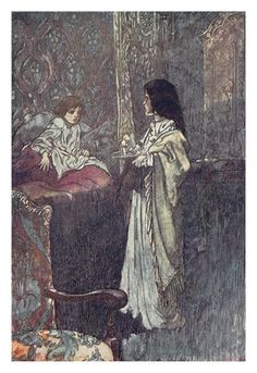 """""""Who are you?"""" He said at last. """"Are you a Ghost?"""" - The Secret Garden by Francis Hodgson Burnett, 1911"""