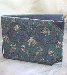 Liberty of London Visitors Book . Gorgeous Vintage Gift, A Way to Record Memories of Guests to Your Home. Peacock Design, Liberty Of London, Arts And Crafts Movement, Classic Elegance, Vintage Gifts, Thoughtful Gifts, Kitsch, Art Nouveau, Spicy