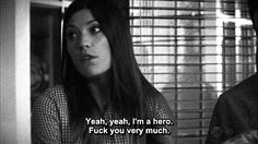 Debra Morgan, I LOVE her lol she is my twin i swear
