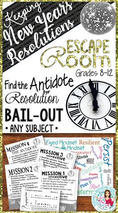 Exciting adventures and thoughtful challenges await your students with this break out based lesson!