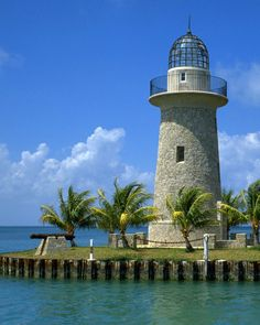 Why Not Studying Nursing in Beautiful Florida (Boca Chita Key Harbor Biscayne Park In Sunny Florida Pictured)