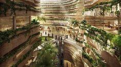 Dentro, plazas con árboles, frescas avenidas, una ligera brisa y el sonido del agua. Fuera, casi cincuenta grados al sol (porque no hay nada que dé sombra), tórridas tormentas de arena y un árido, extenso desierto. ¿Un oasis? No, es Masdar City, un utópico proyecto urbano para 50.000 habitantes planificado desde la nada por el arquitecto británico Norman Foster y sus socios cerca de Abu Dabi, capital de Emiratos Árabes Unidos. Sus promotores la publicitan como la primera ciudad…